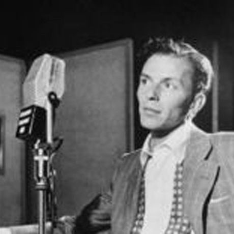 Frank Sinatra, 1915-1998, American jazz singer and actor