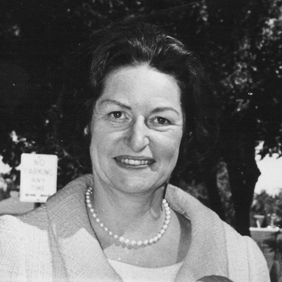 Mrs. Lyndon B. Johnson, 1912-2007, first lady of the 36th US President