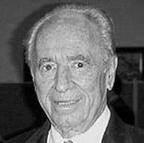 Prime Minister and President Shimon Peres, 1923-, 9th Israeli President